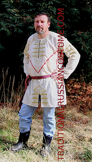 Russian Traditional Clothing Men